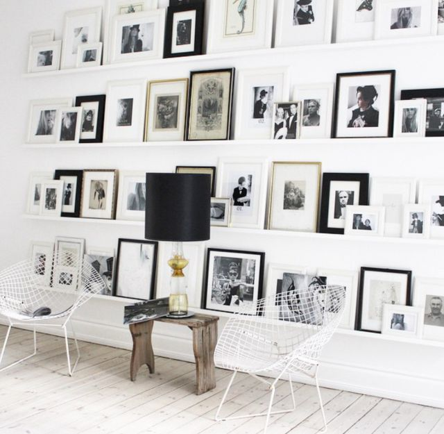 THE HOME WITH THE AMAZING GALLERY WALL…