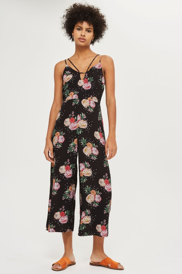 Floral and Star Print Jumpsuit - Playsuits and Jumpsuits - Clothing - Topshop Europe