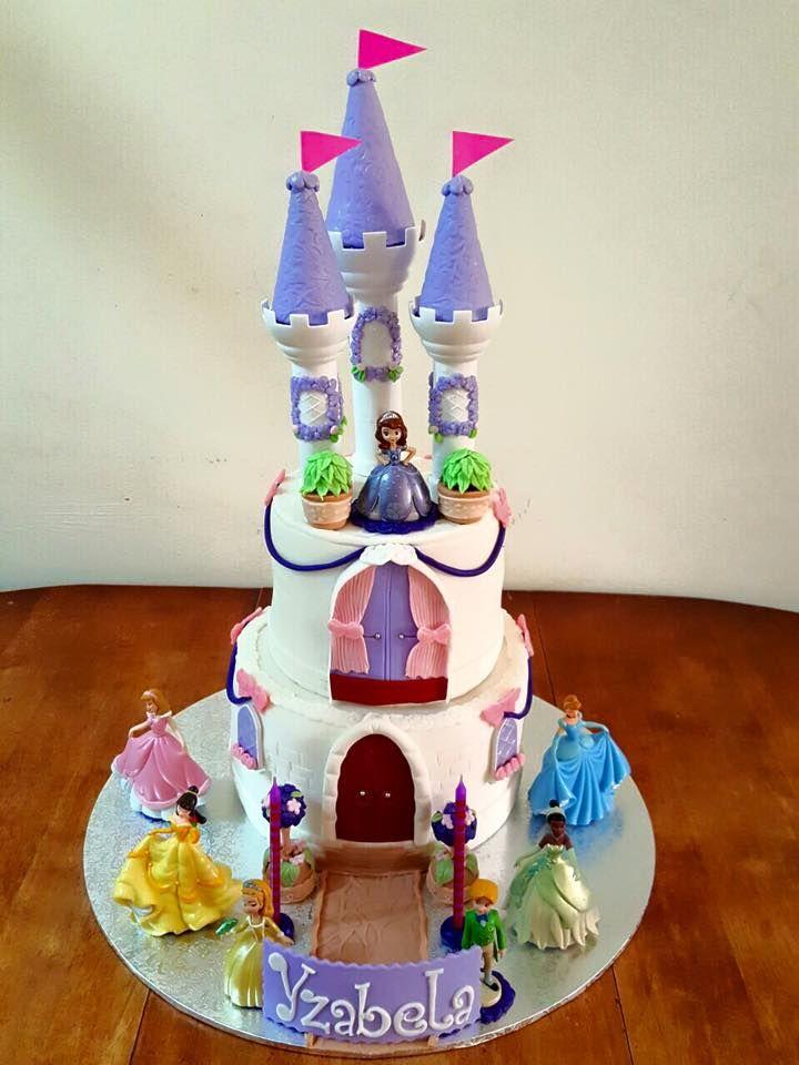 Princess Themed Birthday Cake (created by iBake.Cakes ...