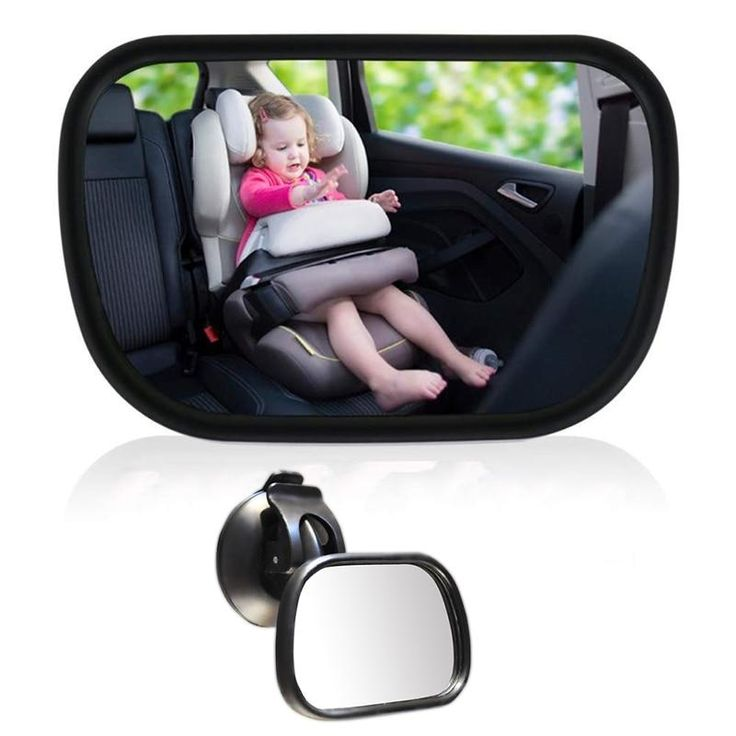 Baby safety rearview mirror child observation mirror 360