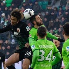 Bundesliga - Match Day 18 - VfL Wolfsburg vs FC Augsburg