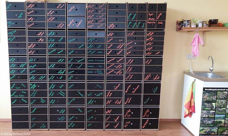 Tafelfronten für die Archivboxen – für kreative Köpfe!