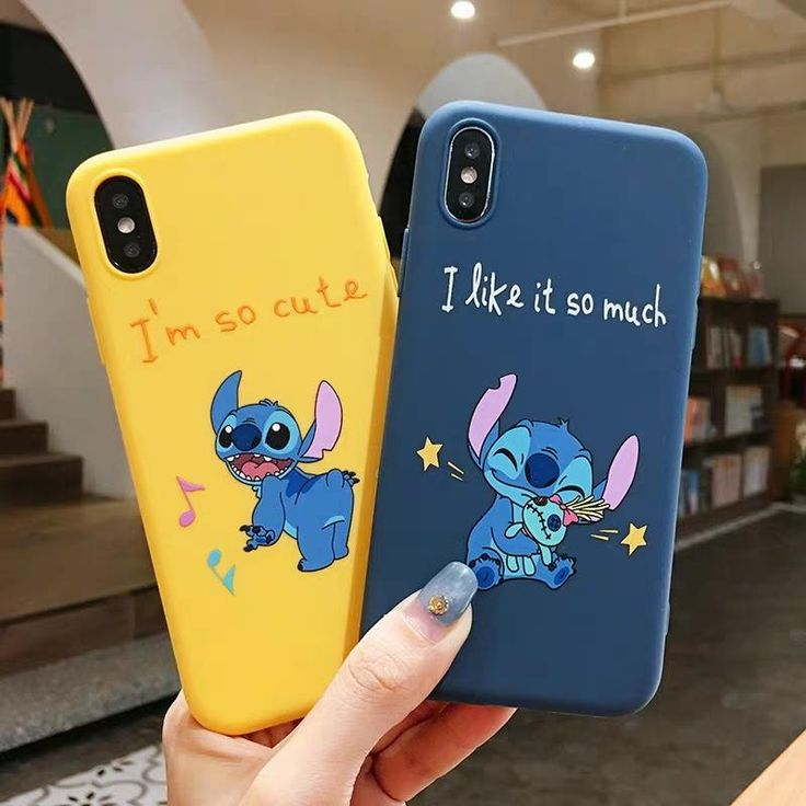 Stitch Phone Case For Iphone6/6S/6P/7/7P/8/8plus/X/XS/XR