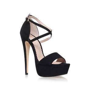 Kurt Geiger Sandals Size 6 EU 39 Carvela Black Platform Killer High Heels £110 #ad #shoes #heels #pumps #womensfashion #shopping #fashion
