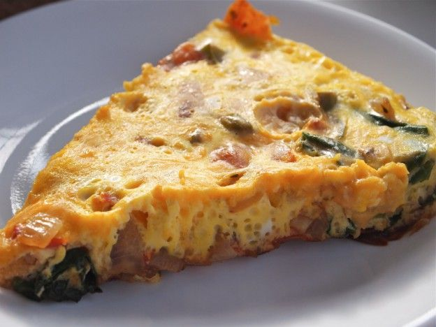 How to Make a Stove Top Veggie Frittata
