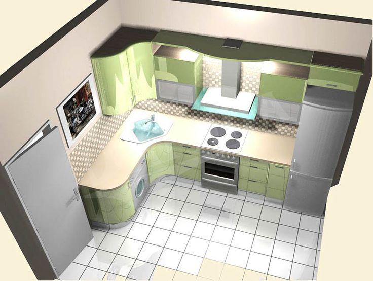 Угловая кухня 9 метров фото фото