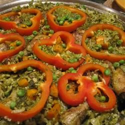 Peruvian Arroz con Pollo Recipe on Yummly. @yummly #recipe