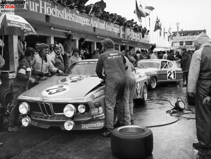 Winners of the 24 Hours Race at the Nürburgring – 1973: Lauda/Joisten - Alpina-BMW 3.3 CSL