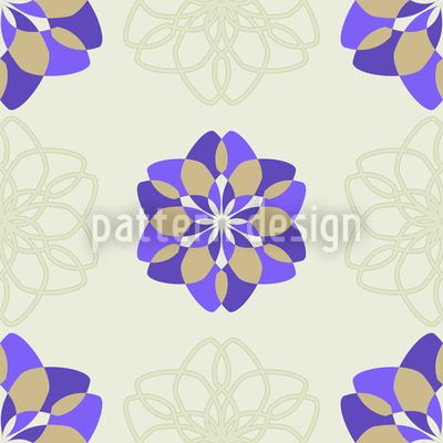 Rosa Floralis by Andreas Loher available for download as a vector file on patterndesigns.com