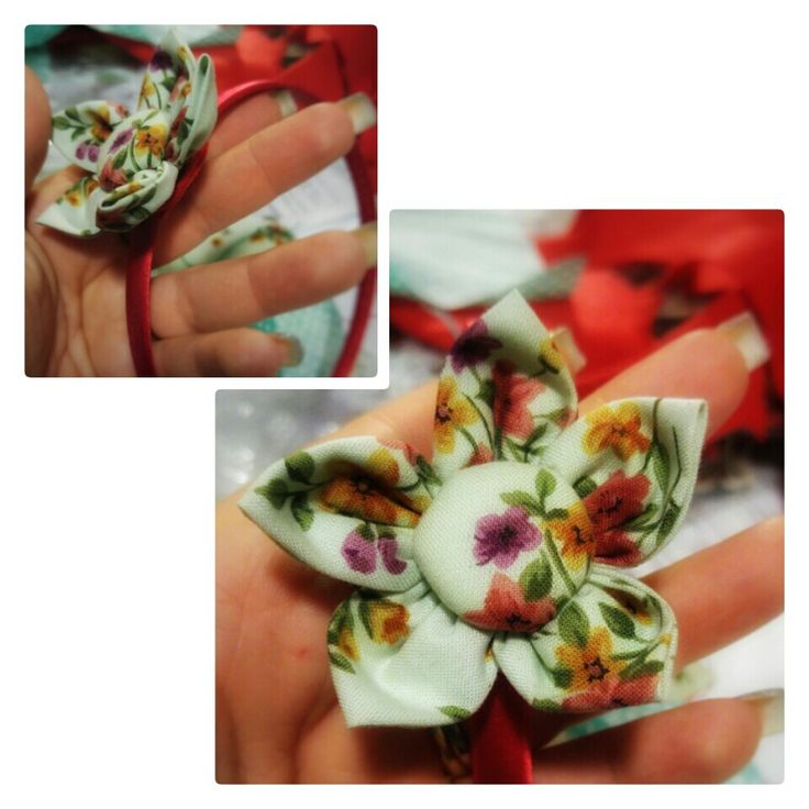 Cerchietto con fiore
