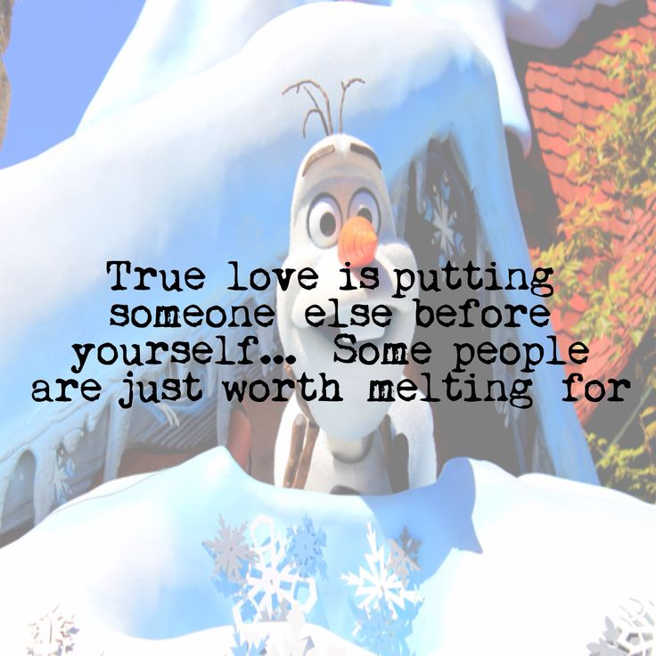 Olaf love quote | Love Quotes 2015 | Pinterest | Olaf ...