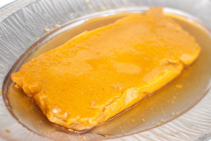 Nydelig på slutten av et stort måltid. Karamellpudding uten egg er ingen problem. Her bruker vi agarflak og maisstivelse for å tykne, og litt gresskarpure for både smak og konsistens. Agarflak får...