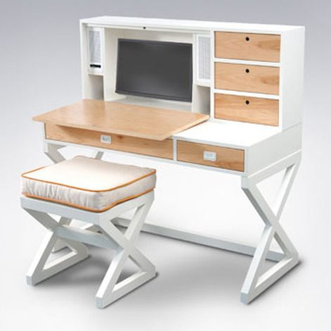 Kids Campaign Desk By Ducduc | 2Modern Furniture U0026 Lighting