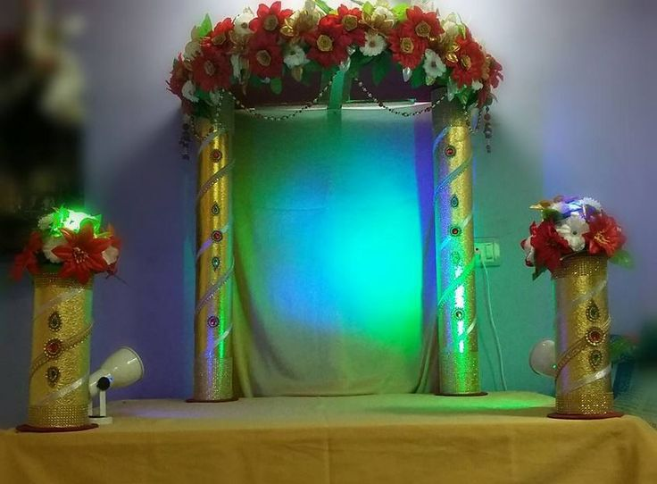 41 best images about ganpati  decoration  on Pinterest