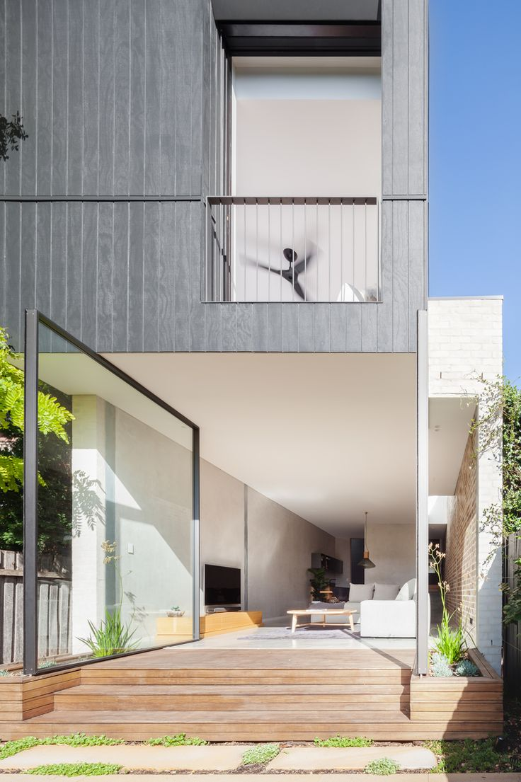 Cladding-D house by Marston Architects