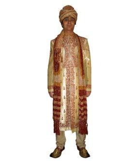 Мужские национальные индийские свадебные костюмы (шервани чуридары, шальвары, дхоти)