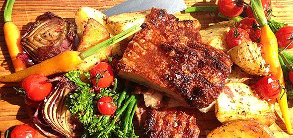 Recipe: A favourite family – Oven Roasted Pork Belly http://blog.redcarnationhotels.com/recipes-tips/recipe-a-favourite-family-oven-roasted-pork-belly/ #recipe #pork