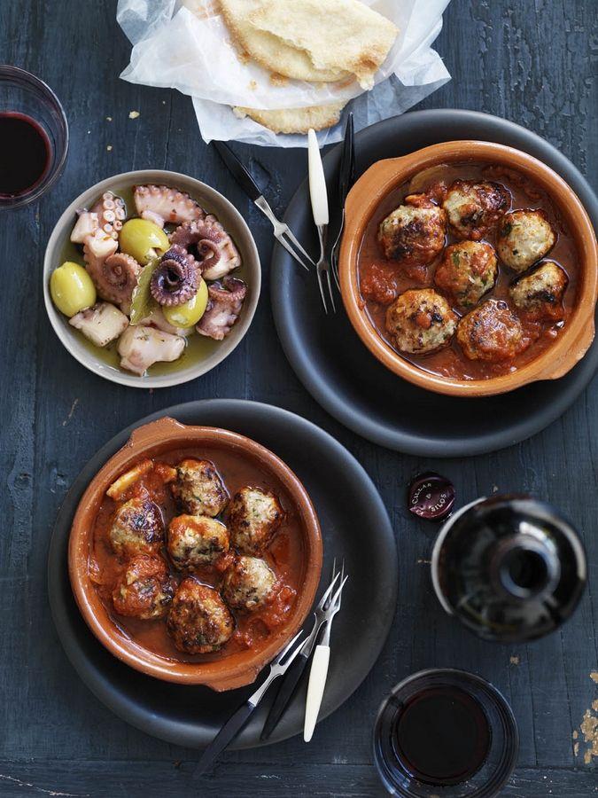 Spanish Tapas Menu Recipes