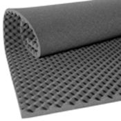 Convoluted Acoustic Foam Panel-- to make your own sound absorption panels