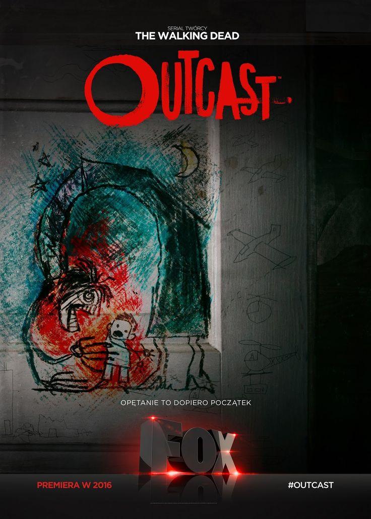 """O P I S A N Y: """"Outcast""""- demoniczny, krwawy i oryginalny! Wyjątkowy?"""