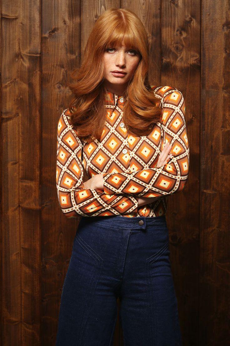 Vibrantly Retro Winterwear : vintage winter
