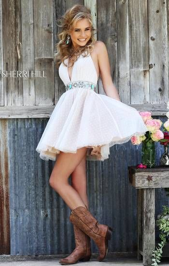 Oh my god. Could these dresses be more adorable. Sherri Hill has amazing dresses~!!