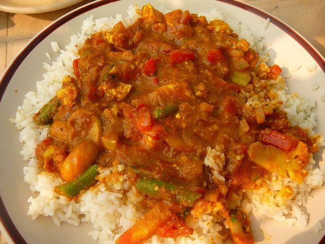 Индийское овощное карри