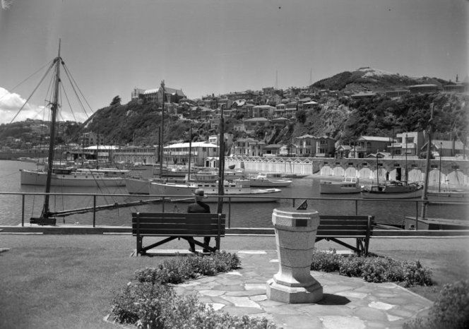 Clyde Quay Marina and surrounding area, Wellington 1940