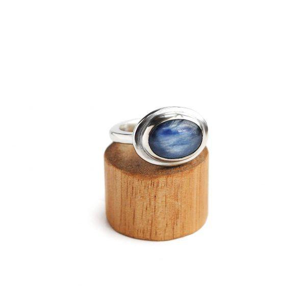 Kyanite Ring Glacier Jewellery Design www.glacierjewellerydesign.com.au