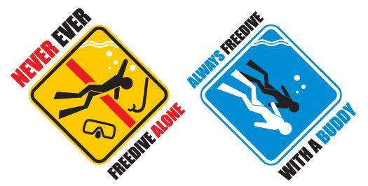 never freedive alone