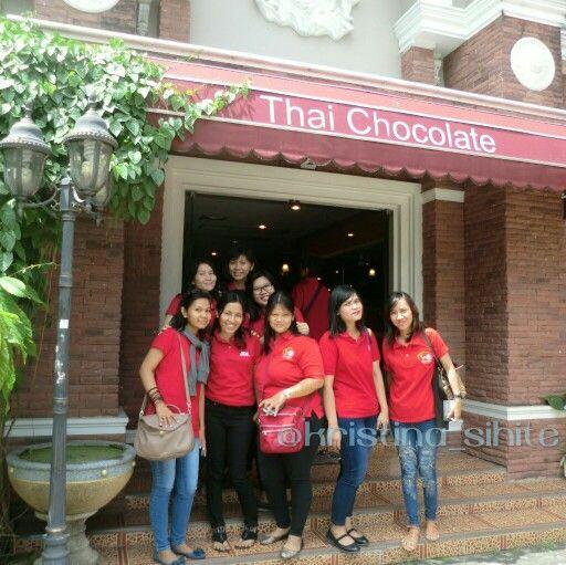 Ace goes to Bangkok! At Thai Chocolate, Bangkok