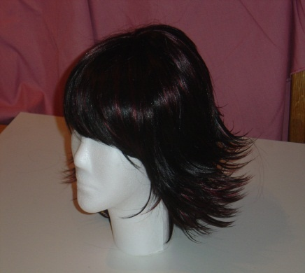 Nikki R260 SW033.  Japanese Fibre Wigs.  Stunning quality.  Looks and feels like real hair!  Adjustable straps to suit head size.  BUFFY's WIGS (South Africa)  Cell 082 873 2706 buffycameron@gmail.com
