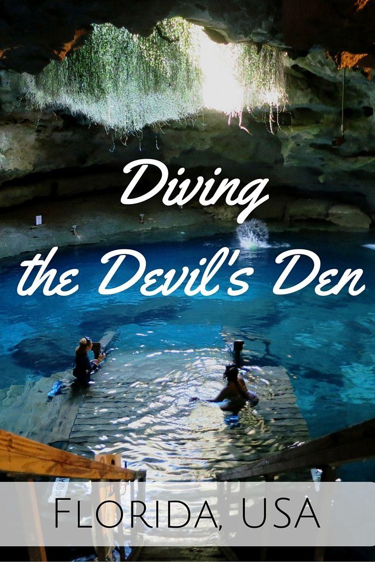 Diving the Devil's Den - Florida, USA - World Adventure Divers video