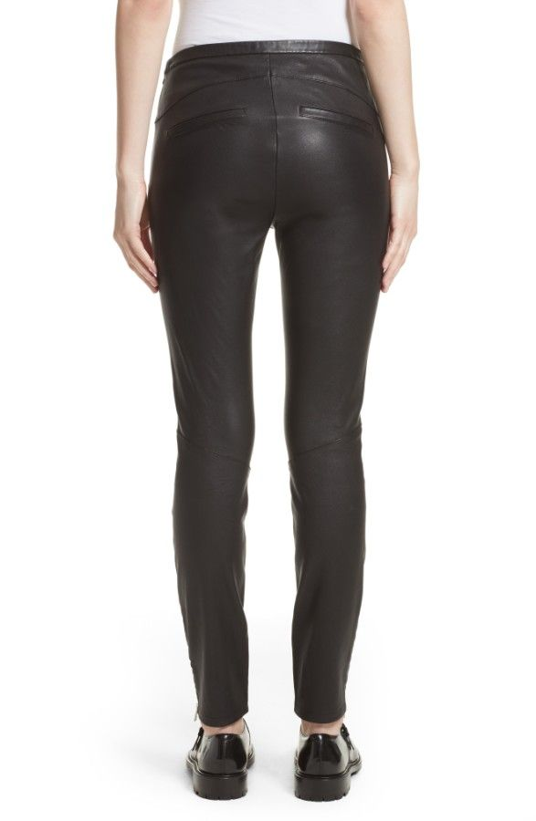 Main Image - Belstaff Gazelle Leather Leggings