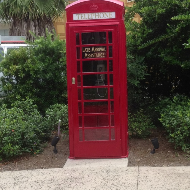Phone booth in Spanish Springs, The Villages, Florida