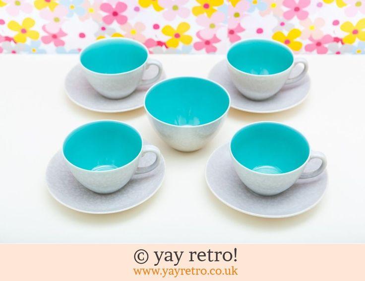 Prewar Poole Green Teaset - Retro and Vintage China, Glassware and Kitchenalia - yay retro!