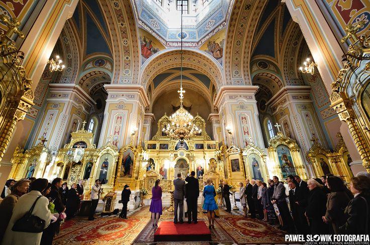 śluby prawosławne w cerkwi mają niesamowity klimat