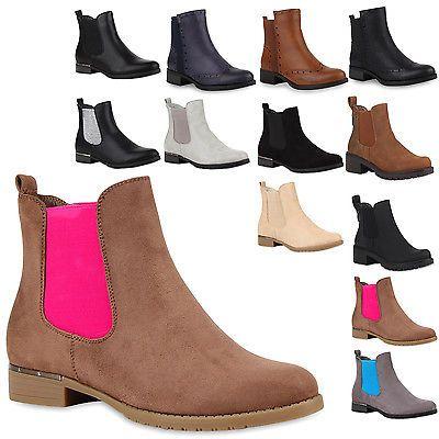 Damen Stiefeletten Chelsea Boots Blockabsatz Schuhe 77129 New Look in Kleidung & Accessoires, Damenschuhe, Stiefel & Stiefeletten   eBay