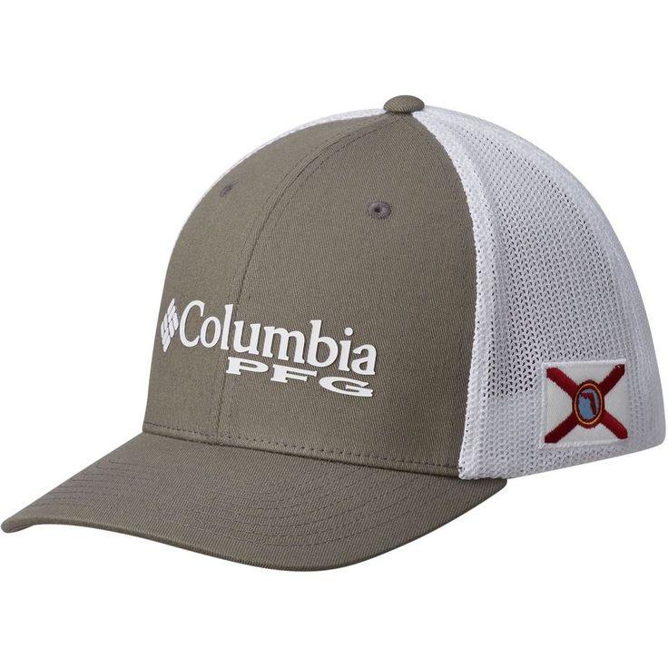 COLUMBIA SPORTSWEAR PFG MESH STATESIDE BALL CAP NEW FREE SHIPPING  #Columbia #FITTED