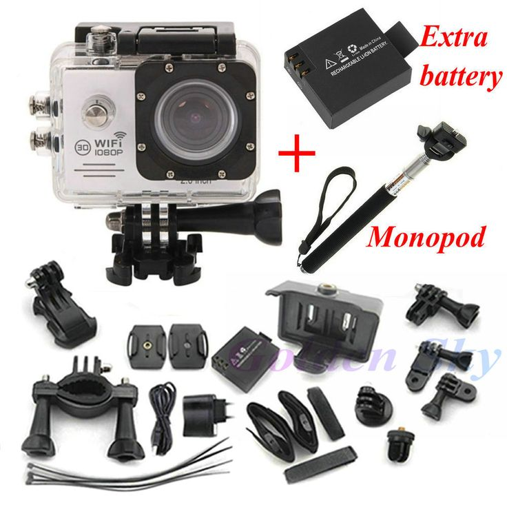 Action Camera SJ7000 WiFi: http://www.fromashop.com/products/action-camera-sj7000-wifi-2-0-ltps-led-mini-cam-recorder-marine-diving-1080p-hd-dv-go-pro-style-two-batteries-monopod-and-much-more/ #ActionCamera #GoPro #WiFi #Camera