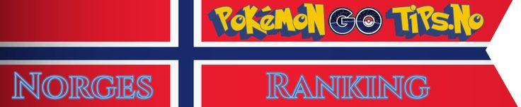 Pokémon GO Norges Ranking