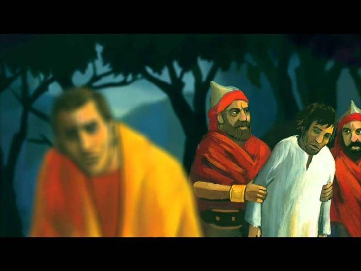 Jezus leeft! Het Paasverhaal met prachtige bewegende beelden uit de prentenbijbel van Marijke ten Cate.