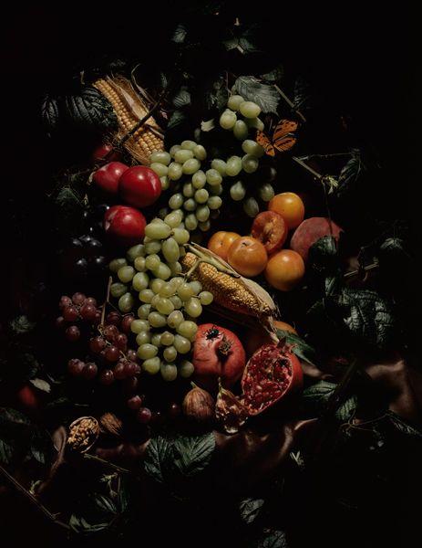 Guido #Mocafico  Nature morte aux fruits.  © 2008.