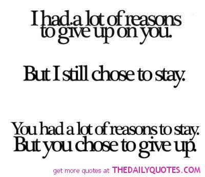i should have said this a long time ago…and stayed strong to it and not came back
