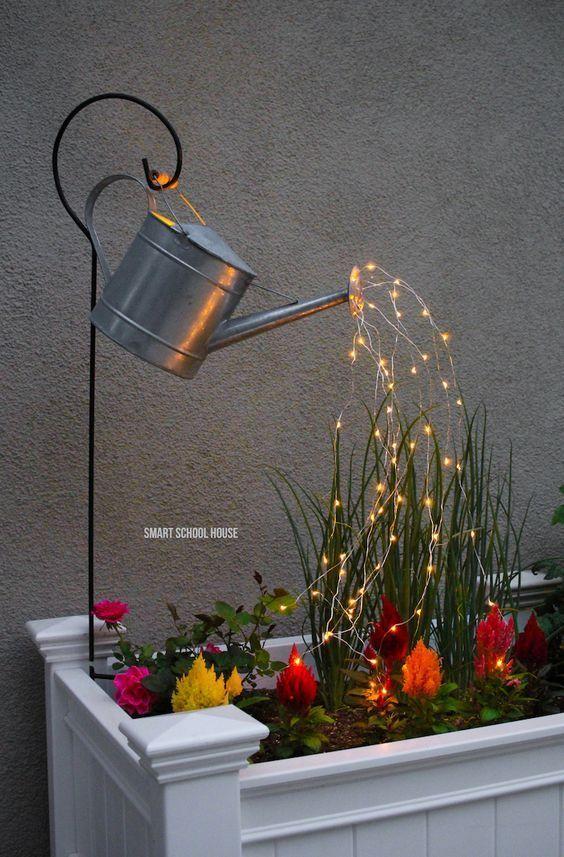 12 Abgefahrene Ideen zum Selbermachen für deine Gartenbeleuchtung!