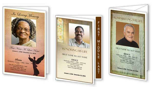 Funeral Hymns Memorial Songs Funeral Program Templates - free obituary program template