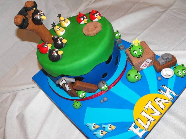 17 Best Images About Angry Birds On Pinterest: 17 Best Images About Angry Birds Cakes/Cupcakes On