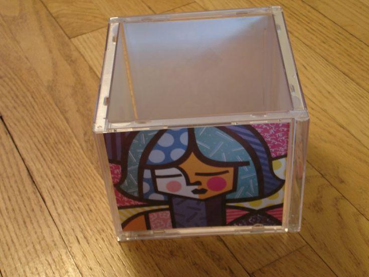 23 besten cd h llen basteln bilder auf pinterest cd h llen recycling und basteln. Black Bedroom Furniture Sets. Home Design Ideas