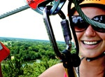Vertical Illusions Chimney Rock Park Zip Line Tour - get your thrills zipping off cliffs and over canyons.