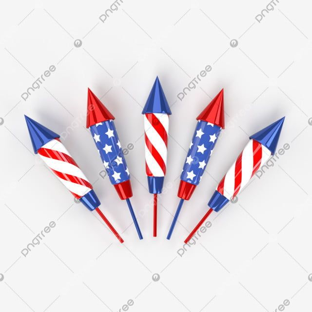 Fireworks In National Colors Of The Usa 3d Illustration Patriot Stars Balloon Png Transparent Clipart Image And Psd File For Free Download In 2020 Independence Day Fireworks Balloons Us Independence Day